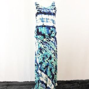 Veronica M TieDye Maxi Dress